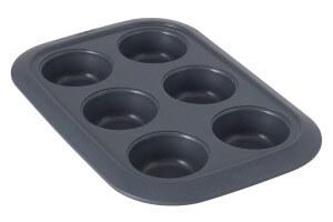 Moule pour 6 cupcakes Berghoff Gem Ø6,5cm acier carbone