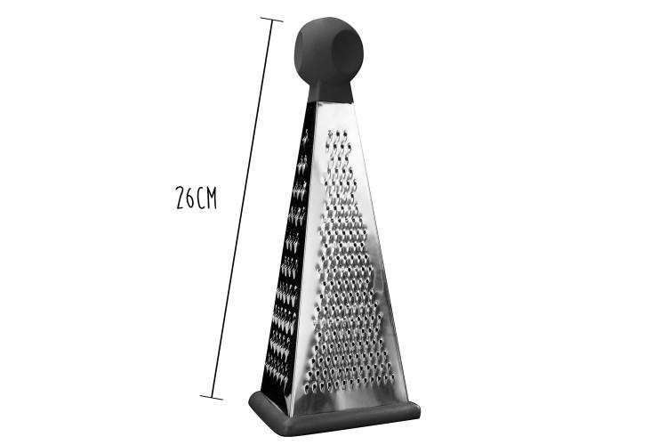 Râpe 3 faces Berghoff Essentials acier inox + poignée