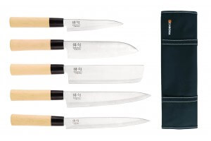 Mallette 5 couteaux de cuisine Chroma Haiku Yakitori