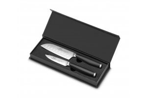 Coffret SABATIER International Majoris Office 9cm + Santoku alvéolé 13cm