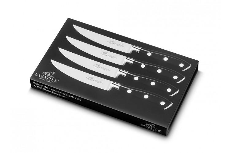 Coffret SABATIER International Ysis 4 couteaux à steak