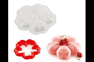 Moule silicone 3D Silikomart Sakura Origami