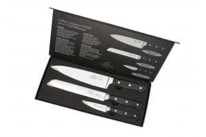 Coffret SABATIER International Pluton 3 couteaux de cuisine