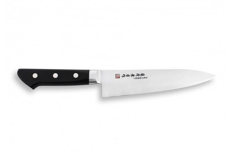 Couteau de chef japonais Fujiwara acier inox AUS-8
