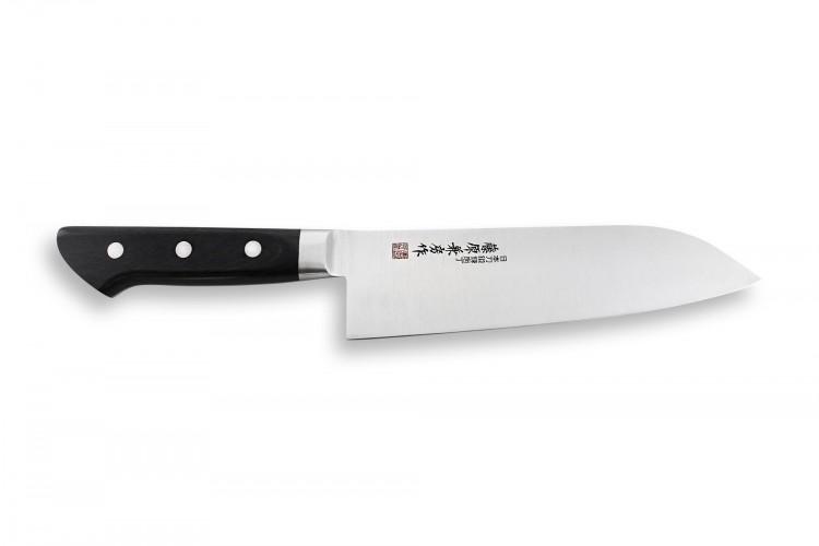 Couteau santoku japonais Fujiwara 18cm AUS-8