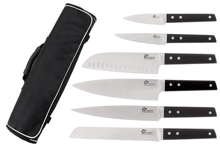 Mallette 6 couteaux cuisine Pro Pradel Excellence