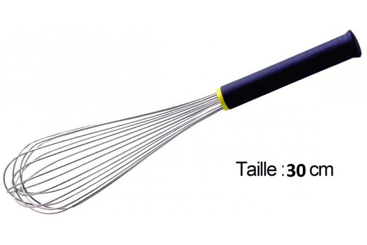 Fouet de cuisine FMC professionnel Matfer 30cm manche Exoglass®