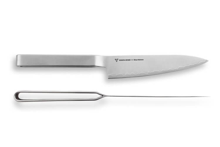 Couteau universel japonais Shizu Hamono Round Bar 13cm