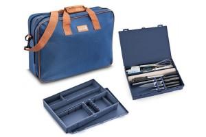 Mallette de pâtissier 23 accessoires Urban Case DEGLON bleue