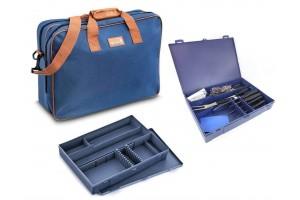 Mallette de cuisine 30 couteaux et accessoires Urban Case DEGLON bleue