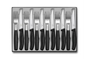 Ménagère 12 pièces Victorinox Swissclassic acier inox couteaux bout pointu