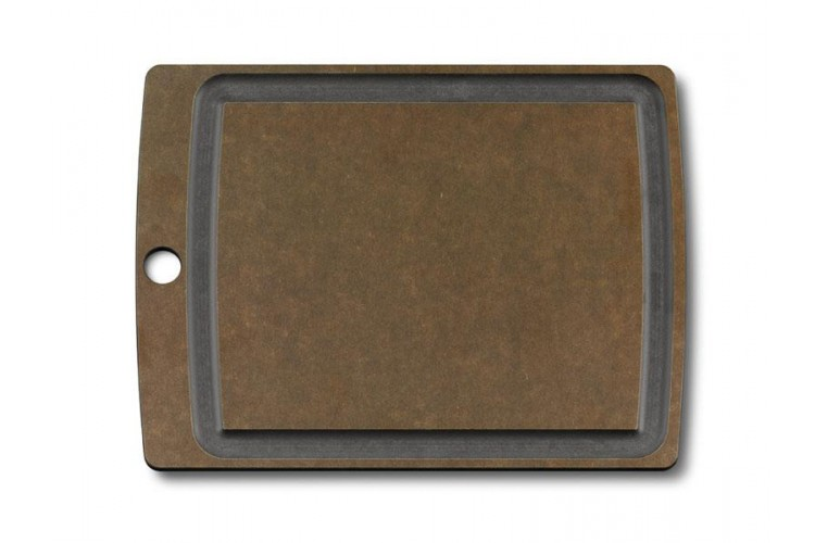 Planche à découper Victorinox Epicurean en fibre de papier taille M + rigole à jus