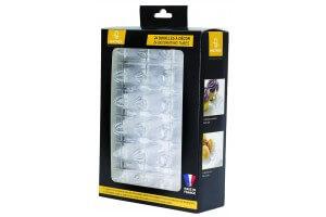 Boîte de 24 douilles choix du pâtissier Matfer en polycarbonate transparent