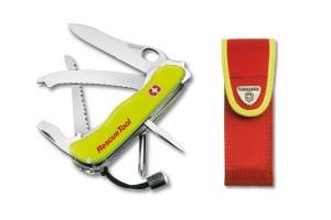 Couteau suisse Victorinox Rescue Tool jaune fluo 111mm 13 fonctions + étui