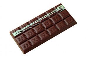 Moule pour 3 tablettes de chocolat 100g en polycarbonate 150 x 70mm