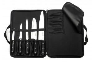 Mallette extra plate 5 couteaux de cuisine Sabatier Trompette Origin