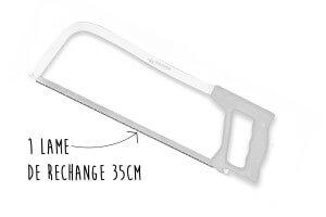 Lame de rechange pour scie de ménage Fischer standard 35cm
