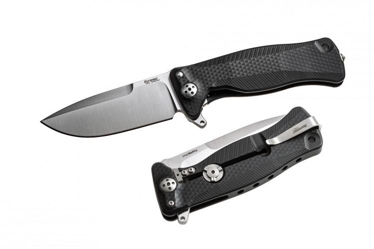 Couteau pliant LionSteel SR11 manche alu 12cm pic brise-vitre