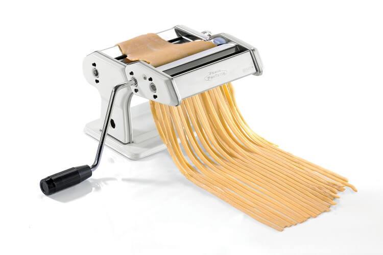 Machine à pâte Gefu Perfetta acier chromé avec tambours antiadhésifs