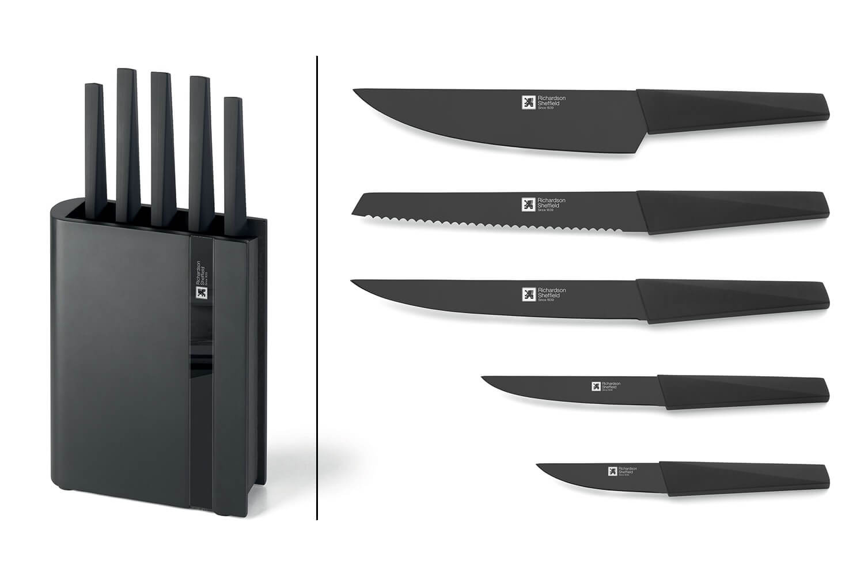 Bloc Richardson Modele Edge 5 Couteaux De Cuisine