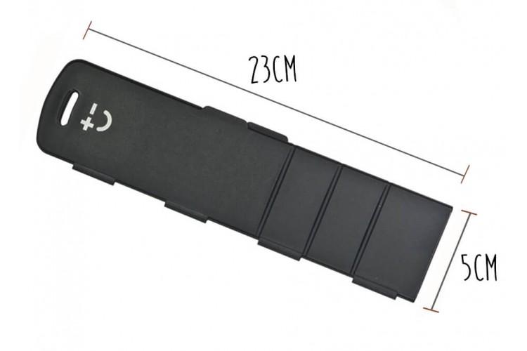 Protège-lame magnétique rigide noir Bisbell