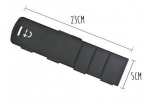 Protège-lame universel aimanté longueur ajustable Bisbell