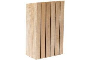 Bloc vide pour 5 couteaux Berghoff Ron en bois de frêne