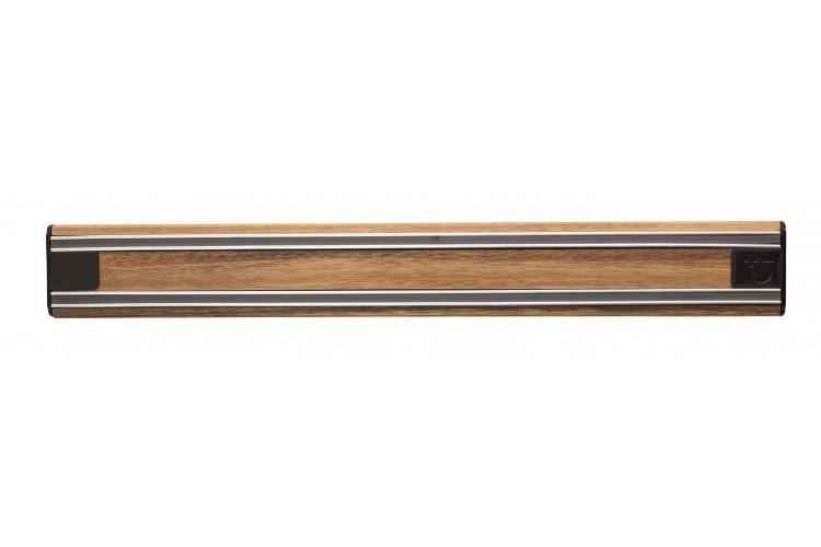 Barre aimantée aimant puissant Bisbell Bisichef 35cm en bois