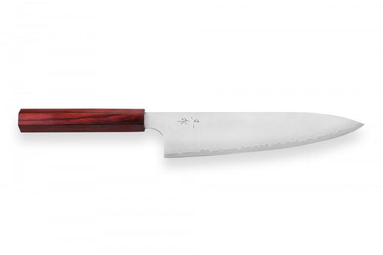 Couteau de chef japonais artisanal Kei Kobayashi SG2 21cm