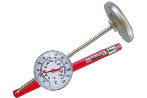 Thermomètre à sonde inox Alla France 0°C à 120°C