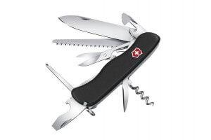 Couteau suisse Victorinox Outrider noir 111mm 14 fonctions