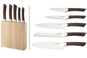 Bloc Albert de Thiers La cuisine d'Albert 5 couteaux de cuisine