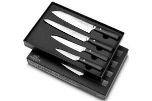 Coffret SABATIER International Athos 4 couteaux inox et ABS