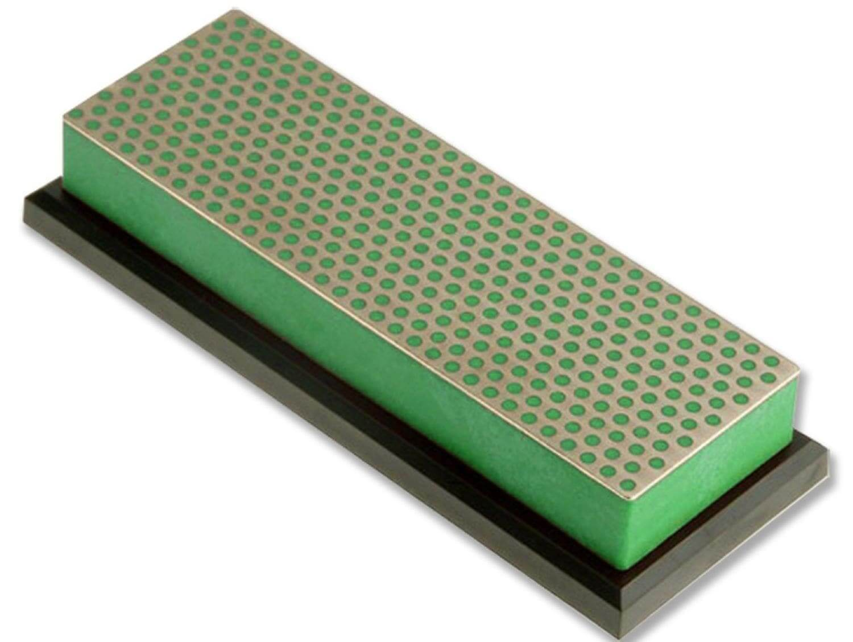 W6XP 15,2 cm DMT Pierre /à aiguiser Diamond Whetstone-Extra grossi/ère avec Un bo/îtier en Plastique 6 Pouces