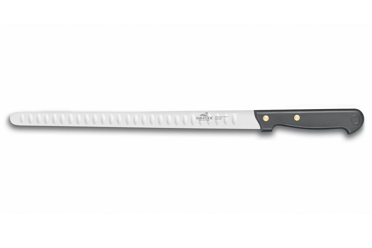 Couteau à saumon / jambon SABATIER Cuisine d'aujourd'hui alvéolé 30cm