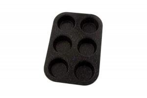 Moule pour 6 muffins Pradel Excellence acier carbone