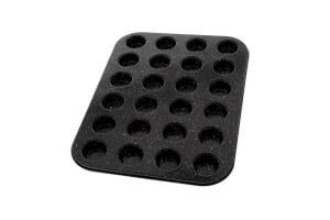 Moule pour 24 mini muffins Pradel Excellence acier carbone
