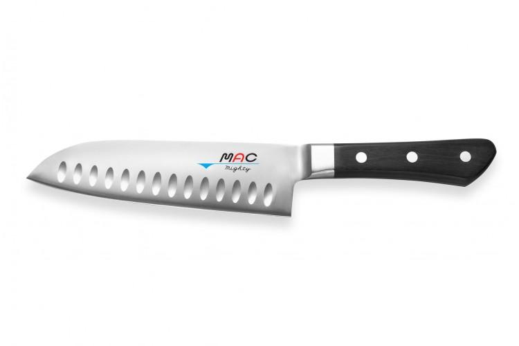 Couteau santoku japonais MAC Professional alvéolé 17cm
