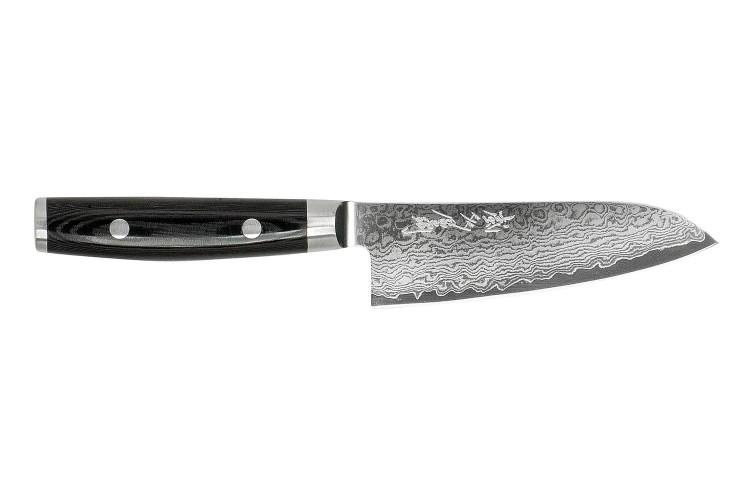Couteau santoku japonais Yaxell RAN Plus damas 69 couches