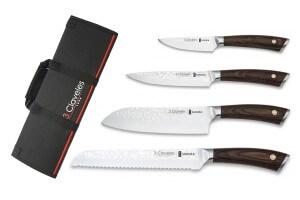 Mallette de 4 couteaux de cuisine 3 Claveles Sakura
