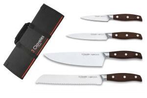 Mallette de 4 couteaux de cuisine 3 Claveles Norden
