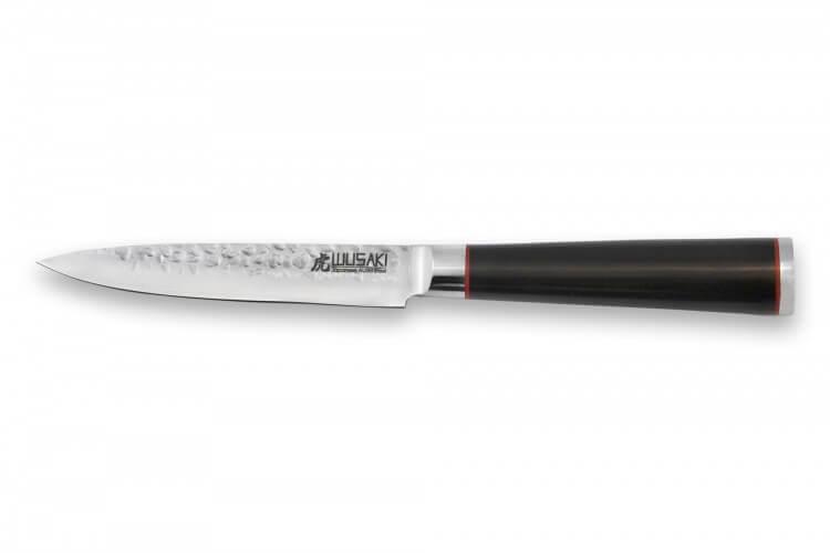 Couteau universel Wusaki Ebony AUS8 12cm manche ébène vernis