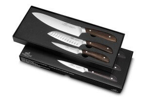 Coffret SABATIER International Country Office 9cm + Santoku 13cm + Chef 20cm