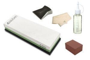 Pack spécial entretien pour couteaux en acier - Pierre 3000/8000