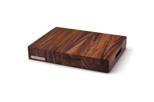 Billot de cuisine Continenta en bois d'acacia avec poignées