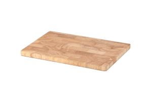 Planche à découper Continenta en bois d'hévéa mosaïque