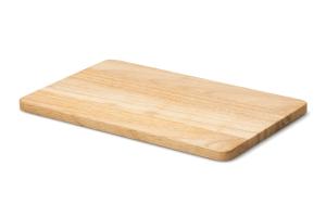Planche à découper Continenta en bois d'hévéa