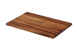 Planche à découper Continenta en bois d'acacia