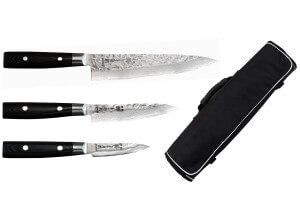 Mallette de 3 couteaux Japonais Yaxell Zen