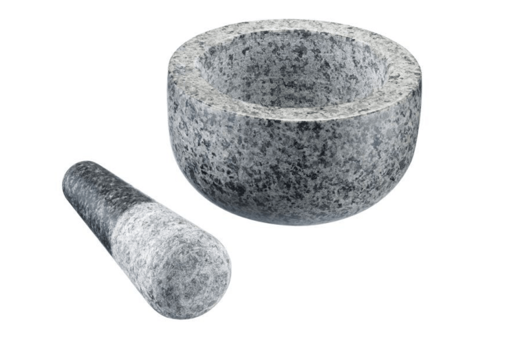 Mortier Westmark diamètre 13 cm en granit + pilon